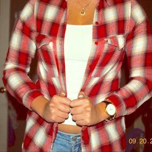 red lumberjack flannel
